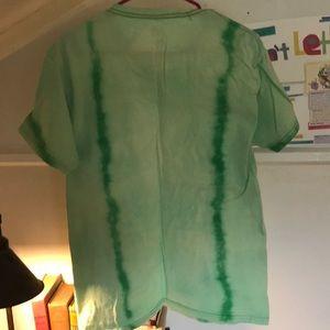 Fruit of the Loom Shirts - Custom Acid washed green T